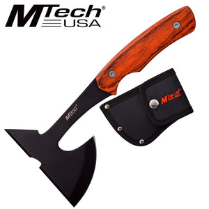 MTech USA Wood Single Handed Axe - Frontier Blades