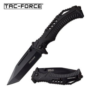 "8.75"" TAC FORCE SPRING ASSISTED OUTDOOR TANTO FOLDING POCKET KNIFE - Frontier Blades"