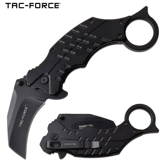 TAC FORCE TF-1020BK ASSISTED OPEN OUTDOOR FOLDING POCKET KNIFE NEW - Frontier Blades