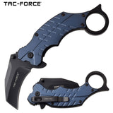 TAC FORCE TF-1020BL ASSISTED OPEN OUTDOOR FOLDING POCKET KNIFE NEW - Frontier Blades