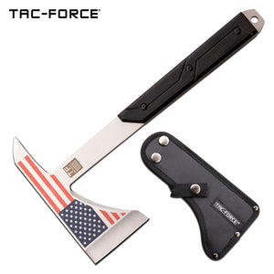 "12"" Tac Force Single Hand Axe (TF-AXE001CL) - Frontier Blades"