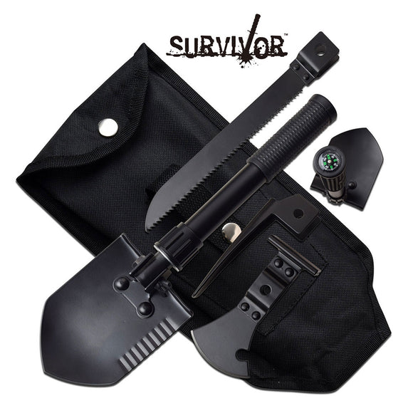 Survivor 5 in 1 Multi Purpose Tool - Frontier Blades