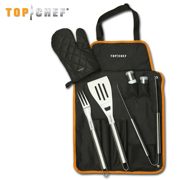 Top Chef 7 PC BBQ Kitchenware Set (TC-61) - Frontier Blades