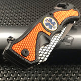 "8"" MASTER USA EMT EMS Rescue Spring Assisted Tactical Pocket Knife"