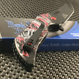"7.75"" Assisted Open Fantasy Red Dragon Pocket Knife (DS-A078RD)"