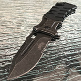 "8.25"" MASTER USA SPRING ASSISTED TACTICAL FOLDING POCKET KNIFE MUA022BG - Frontier Blades"