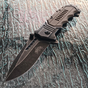 "8.0"" Master USA Assisted Open Tactical Pocket Knife MUA041TN - Frontier Blades"