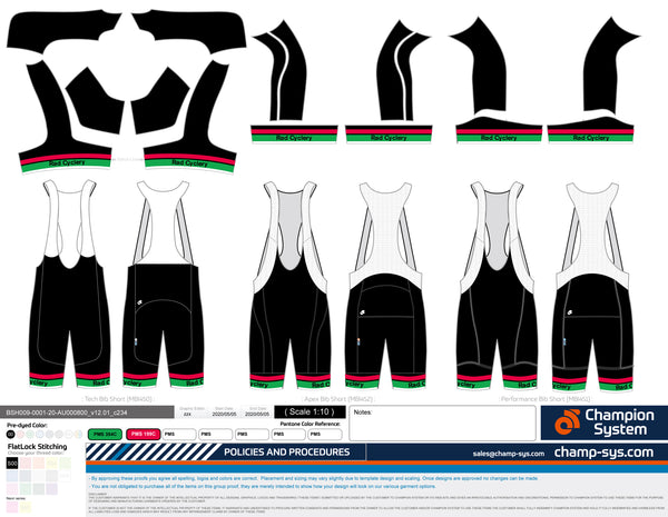 RC CYCLE TEAM BIBSHORT 2020