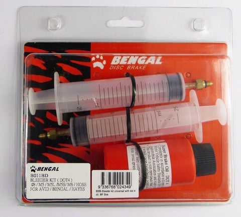BENGAL DISC BRAKE DOT 4 BLEED KIT