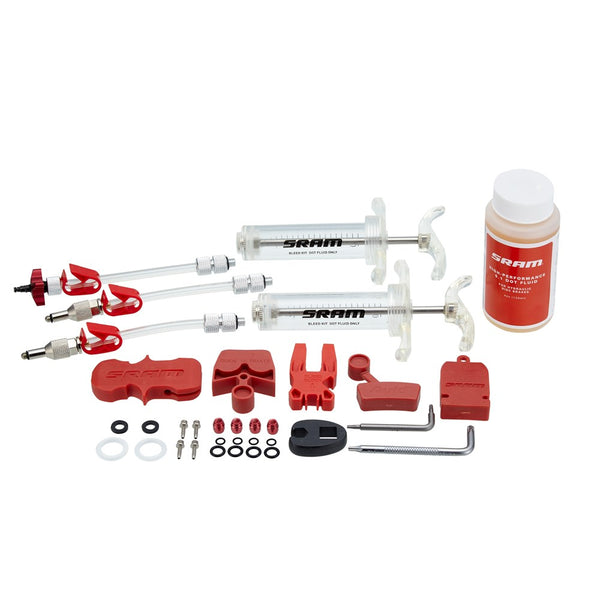 SRAM / AVID DISC BRAKE BLEED KITS / FLUID