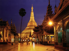 Shwedagon at dusk