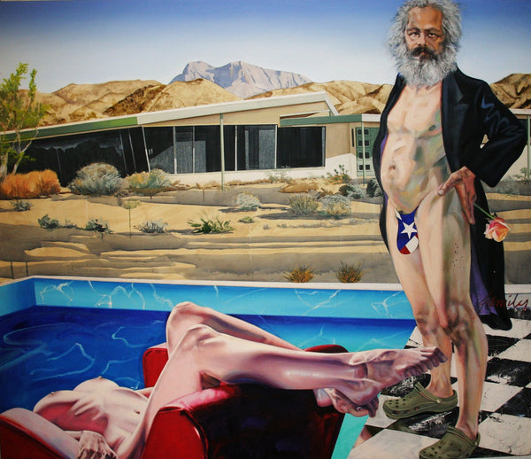 Marx in Palm Springs