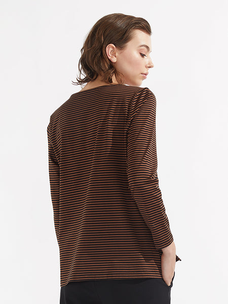Stella knit chestnut