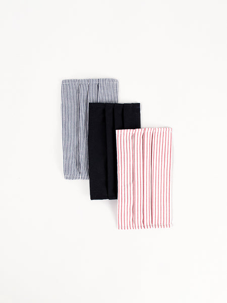 3 Layer Stripe Mask 3pk