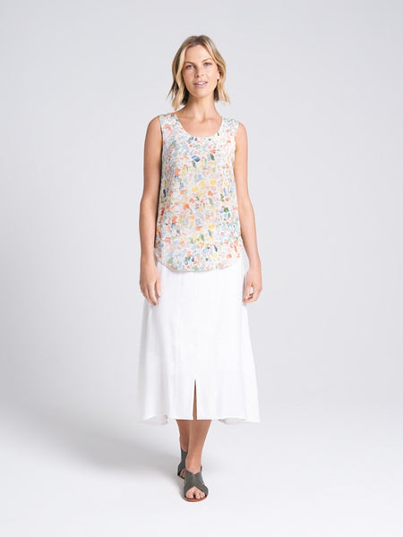 Adalia Skirt White