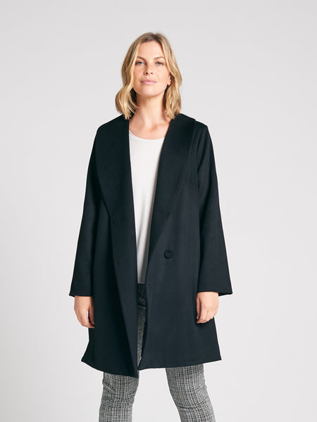 Vincent Coat Black