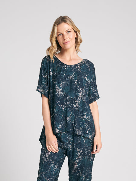 Gwen Top Dappled print