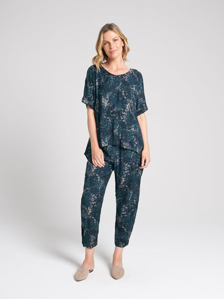 Whisper Pant Dappled Print