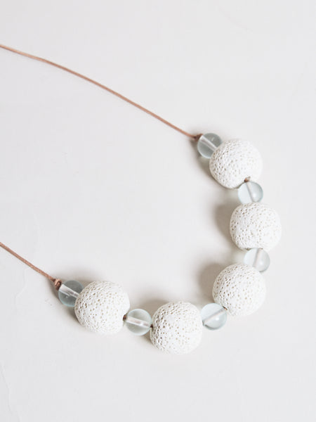 sicily necklace chalk