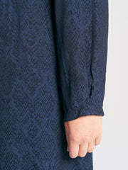 Whisper Shirt Animal Jacquard