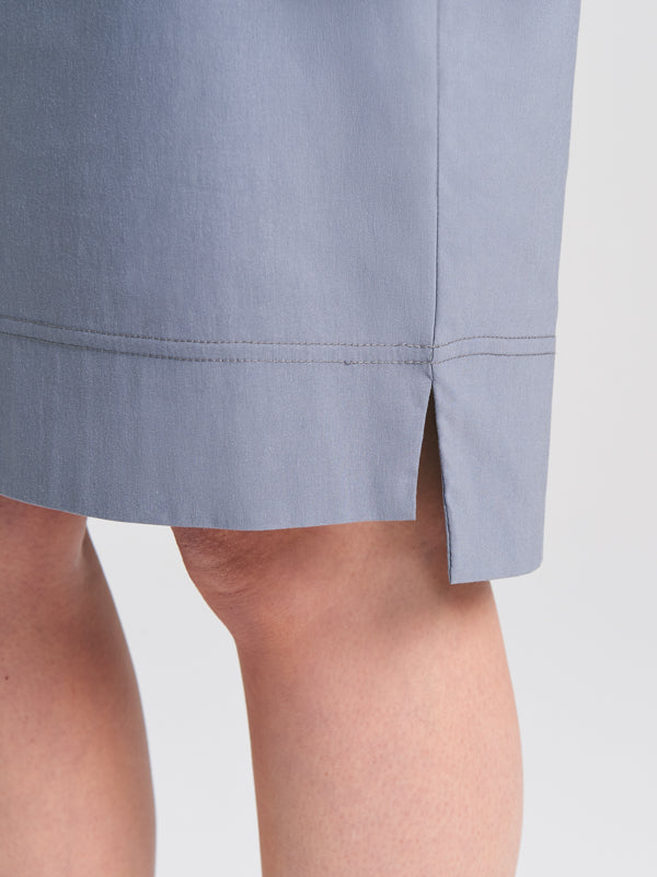 Split detail of Jodie Skirt Slate