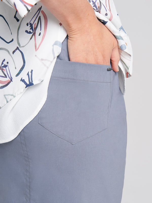 pocket detail of Jodie Skirt Slate