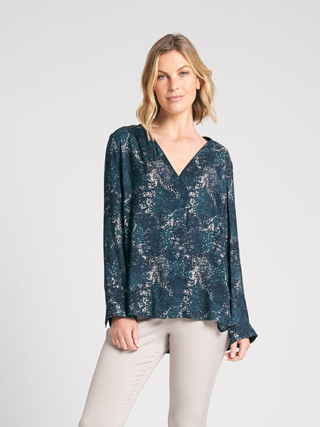 Thea Tunic Dappled print