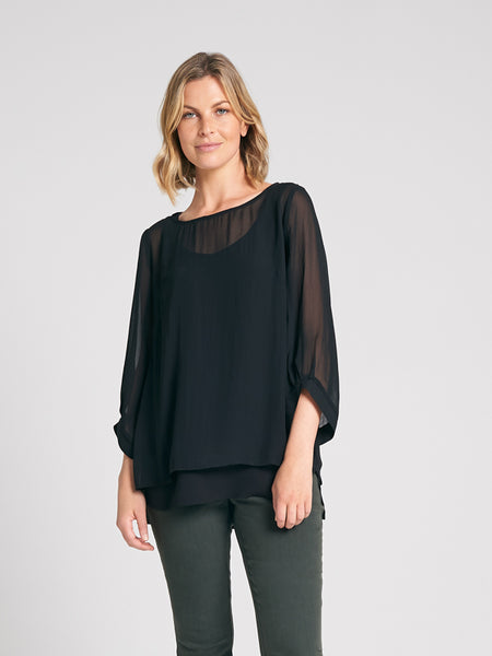 Aries Top Black