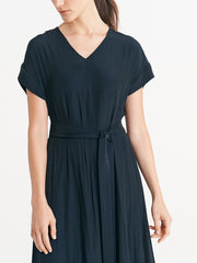 Aria Dress Dark Ink