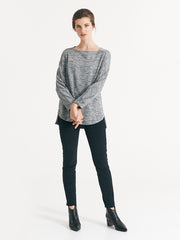 Celia Knit Black/Silver