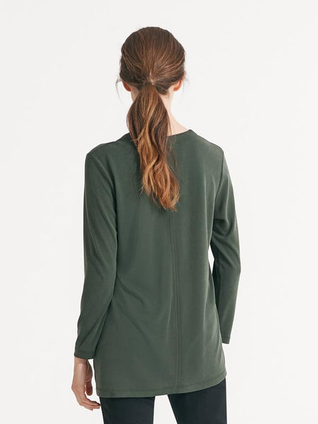 Carrie knit olive