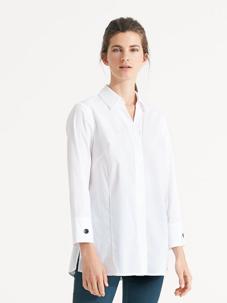 Cassie Shirt White