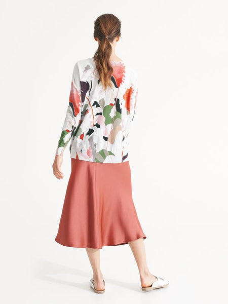 Naples skirt desert rose