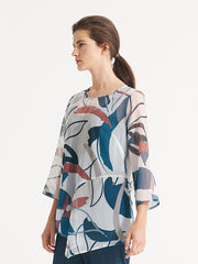 Sierra Tunic Abstract Floral