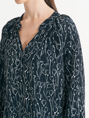 Lexington Top Sketched Floral