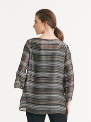 Aerial Top Metallic stripe