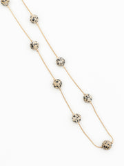 Carly necklace speckle