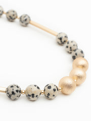 Amira necklace speckle