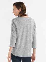 Kayla knit grey/silver