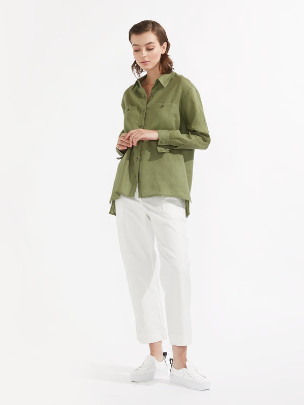 Pippa shirt pear