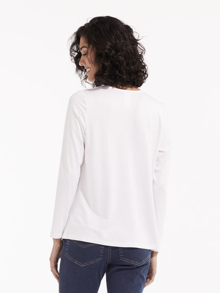 Tryn knit white