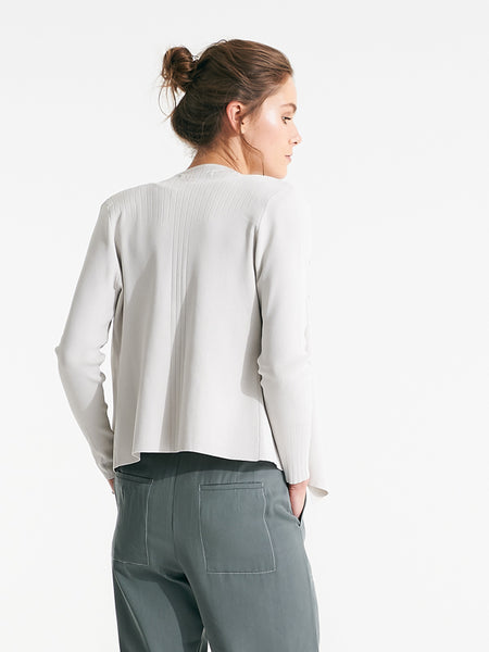 Oxford short knit chalk