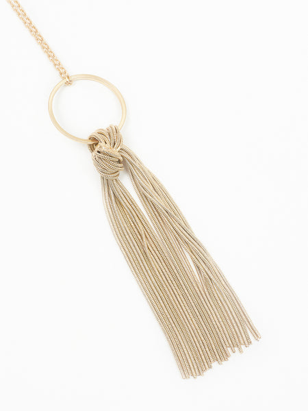 Kingsbury necklace gold