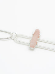 Albany necklace silver/blush