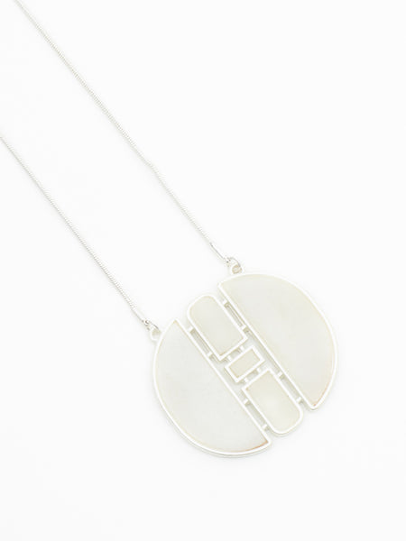 Addington necklace silver