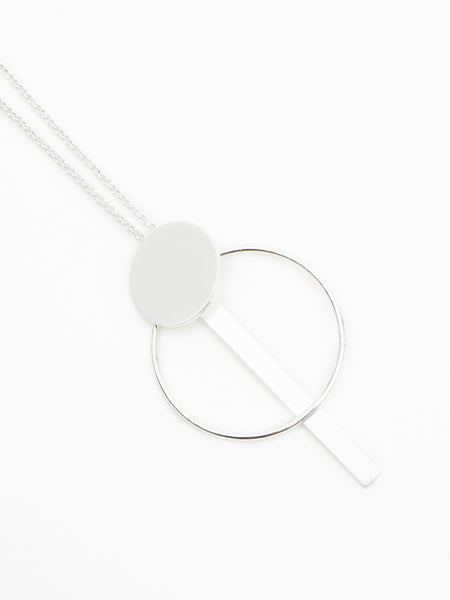 Whitton necklace silver