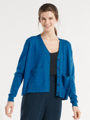 Pippin Cardigan Pacific Blue