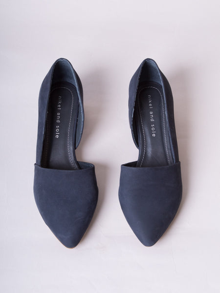 Mayfield Heel Navy