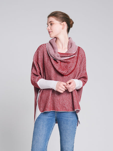 Stafford Knit Redwood/Chalk