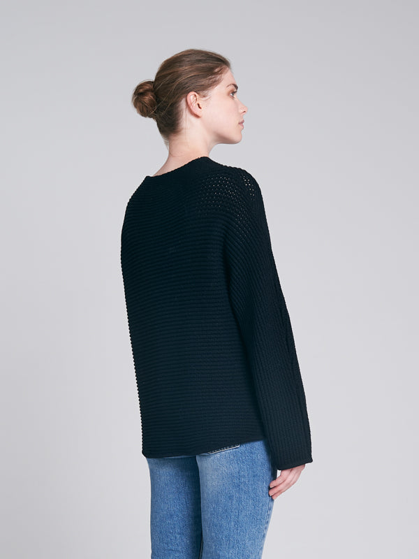 Clyde Knit Black